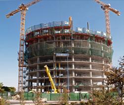 Aumenta el consumo de cemento y el trabajo para arquitectos e ingenieros