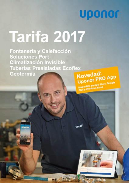 Tarifa Uponor 2017