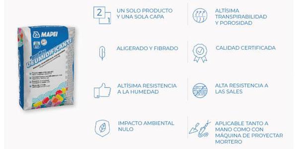 Nuevo revoque PoroMap de Mapei