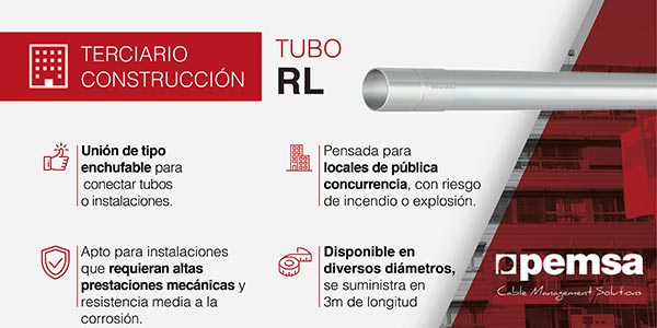 PENSA tubos RL